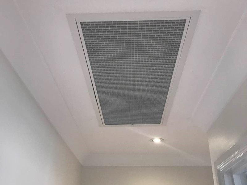 Return Air Grille in ceiling