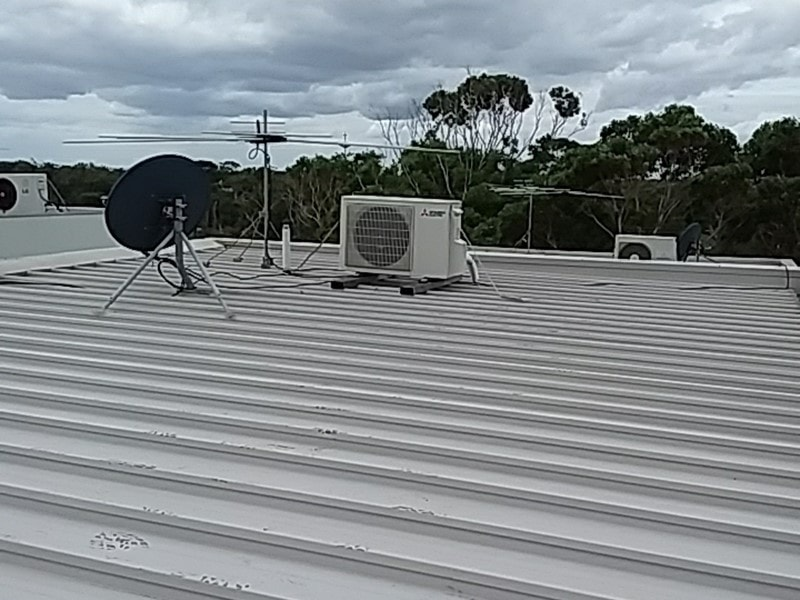 Roof mounted