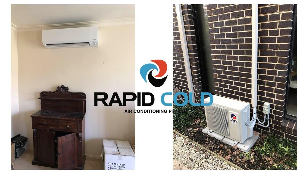 Gree Split System Installation Rapid Cold