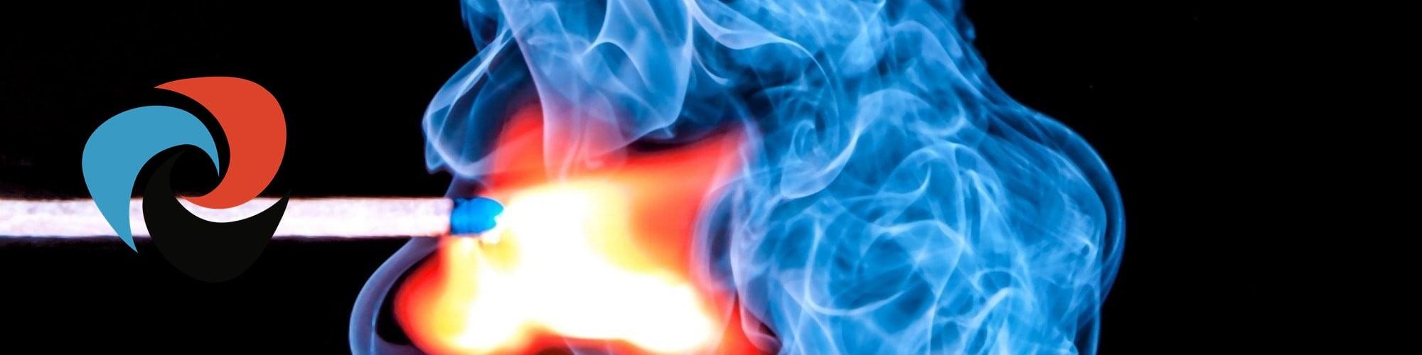 open flued gas heater