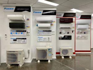 Rapid Cold showroom